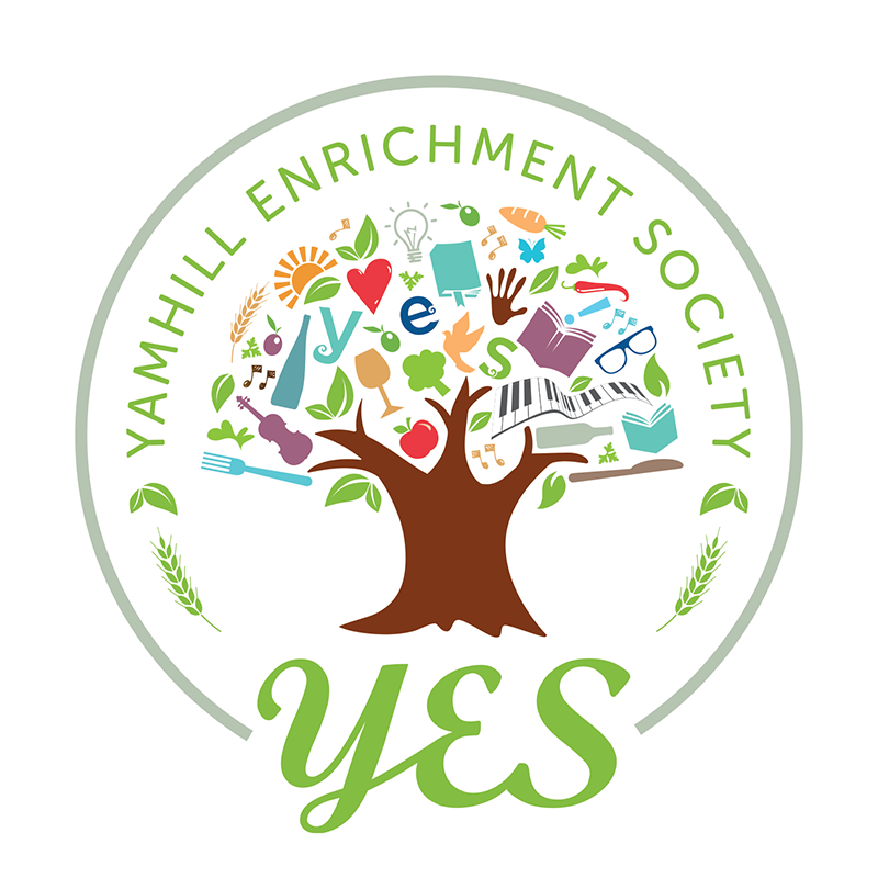 Yamhill Enrichment Society - YES logo